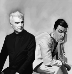 David Byrne and David Byrne