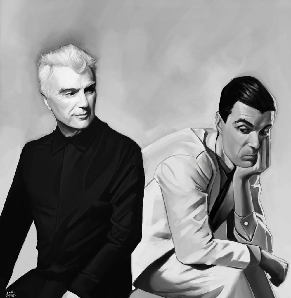 David Byrne and David Byrne