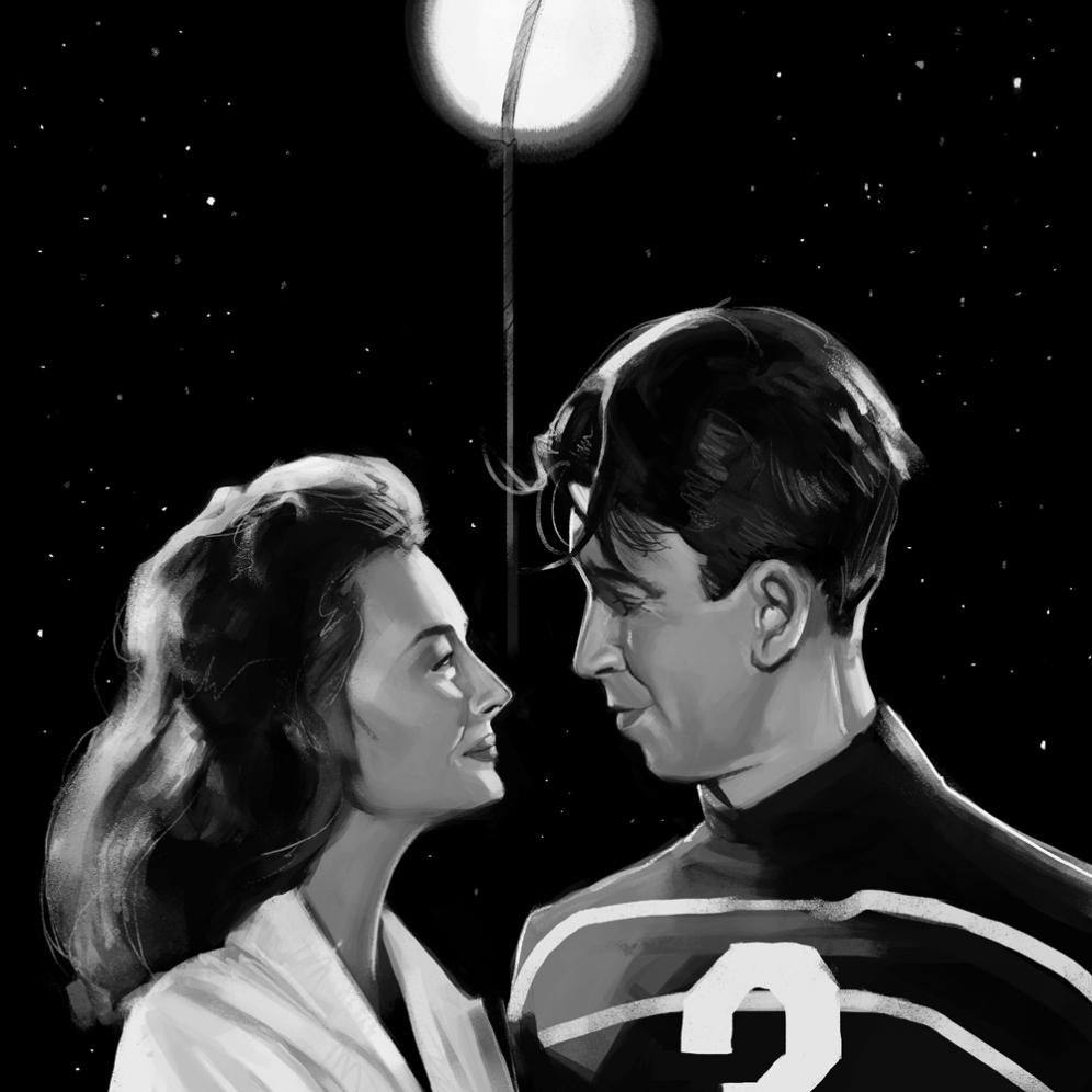 George Lassos the Moon