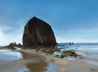 Haystack Rock, Cannon Beach - Oregon
